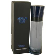 Armani Code Colonia by Giorgio Armani Eau De Toilette Spray 2.5 oz - $92.95