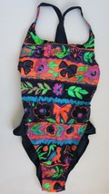 VINTAGE 80s-90s NWOT Arena High-Hip Leg One Piece Swimsuit SZ 4 - $24.74
