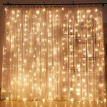 Twinkle Star 300 LED Window Curtain String Light Wedding Party Home Gard... - $21.97