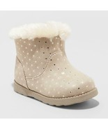 Toddler Girls' Oriole Shearling Boots - Cat & Jack™ Tan 11 - $10.00