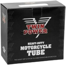 New Twin Power 5.00/5.10-16 TR6 Offset Motorcycle Inner Tube 130/90-16  281108 image 1