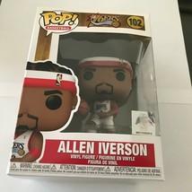 NEW NBA Philadelphia 76ers Allen Iverson Funko Pop Figure - $24.95