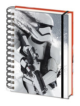 Officially Licensed Star Wars Stormtrooper A5 Notebook Notepad Journal - $11.54