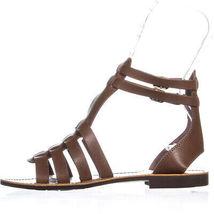 White Mountain Carson Gladiator Flat Sandals 603, Walnut, 6.5 US image 4