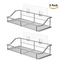 ODesign Adhesive Bathroom Shelf Organizer Shower Caddy Kitchen Spice Rac... - $30.62
