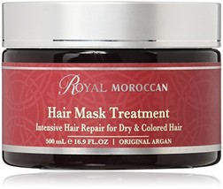 Royal Moroccan Hair Mask Treatment for Dry & Colored Hair 16.9oz./ 500 Ml image 1