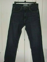 Levi Signature Mens W 33in. X L 32in. Zipper Front 5 Pocket Jeans - $22.46