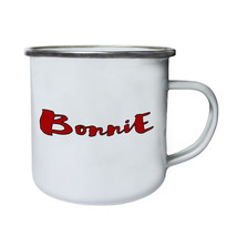 Bonnie Bonnie Retro,Tin, Enamel 10oz Mug c139e - $13.13