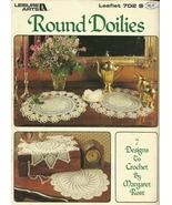 Round Doilies Leisure Arts Leaflet 702 Crochet 7 Designs - $6.99