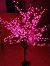 1.5M/5FT 480pcs PINK LED Cherry Blossom Tree LIGHT Wedding Christmas party decor - $196.56
