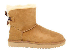 Ankle boot UGG AUSTRALIA 6501 B in beige suede leather - Women's Shoes - €185,10 EUR