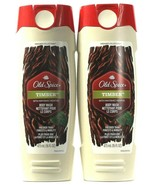 2 Bottles Old Spice Fresher Collection 16 Oz Timber With Mint Body Wash - $24.99