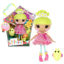 "NEW Lalaloopsy 12"" Tall Button Rag Doll Pix E. Flutters+ Pet Green Firef... - $77.99"