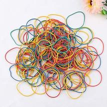240 Pcs Assorted Colors Binder Clips, Paper Clips, Rubber Bands, Paper Clamps,Pa image 3