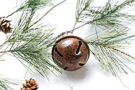 CraftMore Smokey Pine Garland with Rusty Bells 6' image 3