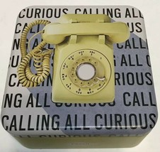 FOSSIL Designer Series Tin Calling All Curious Telephone George Nelson 2001 - $14.91