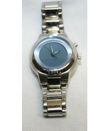 Fossil Blue Face Wristwatch With Metal Band - Untested - $19.79