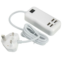Claite 4 Ports USB 3A Extension Socket Outlet Hub Charger Power Adapter ... - $17.39