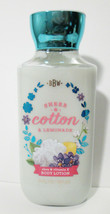 Bath & Body Works Sheer Cotton & Lemonade Shea Vit E Body Lotion 8 oz Us... - $8.99