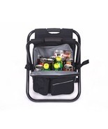 Chair Cooler Bag Beach Camping Fishing Picnic Backpack Folding Multi Fun... - £50.63 GBP