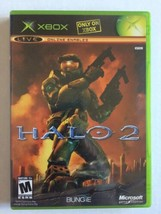 Halo 2 (Microsoft Xbox, 2004) Complete In Box With Manual Tested & Working - $7.91