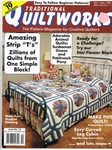 Traditional Quiltworks Oct Nov 1991 - $7.00