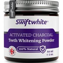 Activated Charcoal Teeth Whitening Powder 60ml by Swiftwhite - 100% Natu... - $11.99