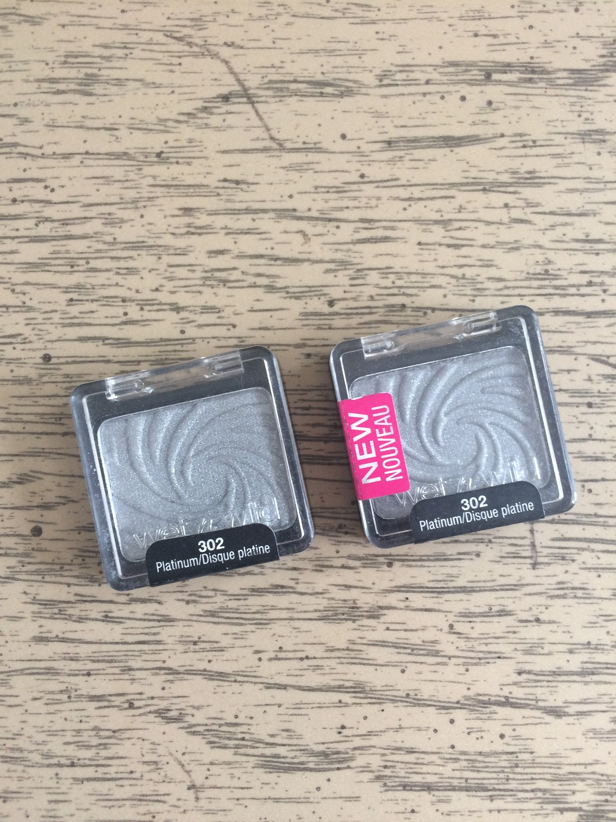 Primary image for Wet n Wild Coloricon Eyeshadow - New & Sealed  #302  PLATINUM Lot of 2