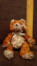 """""""Whittle"""" 2004- Retired Ty Beanie Baby Fluffy Bear With Tags Brand New - $2.99"""