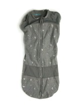 Happiest Baby Sleepea 5-Second Baby Swaddle Gray Space Cotton Medium 2-4... - $24.74