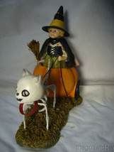 Bethany Lowe Halloween Skelly's Pumpkin Carriage Ride no. TD9077 image 2