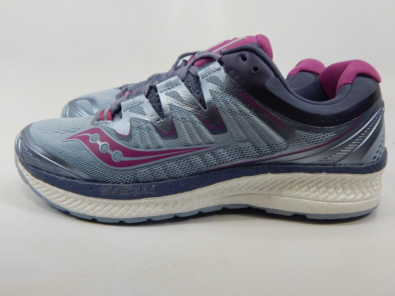 Saucony Triumph ISO 4 Size US 8 M (B) EU 39 Women's Running Shoes Gray S10413-1