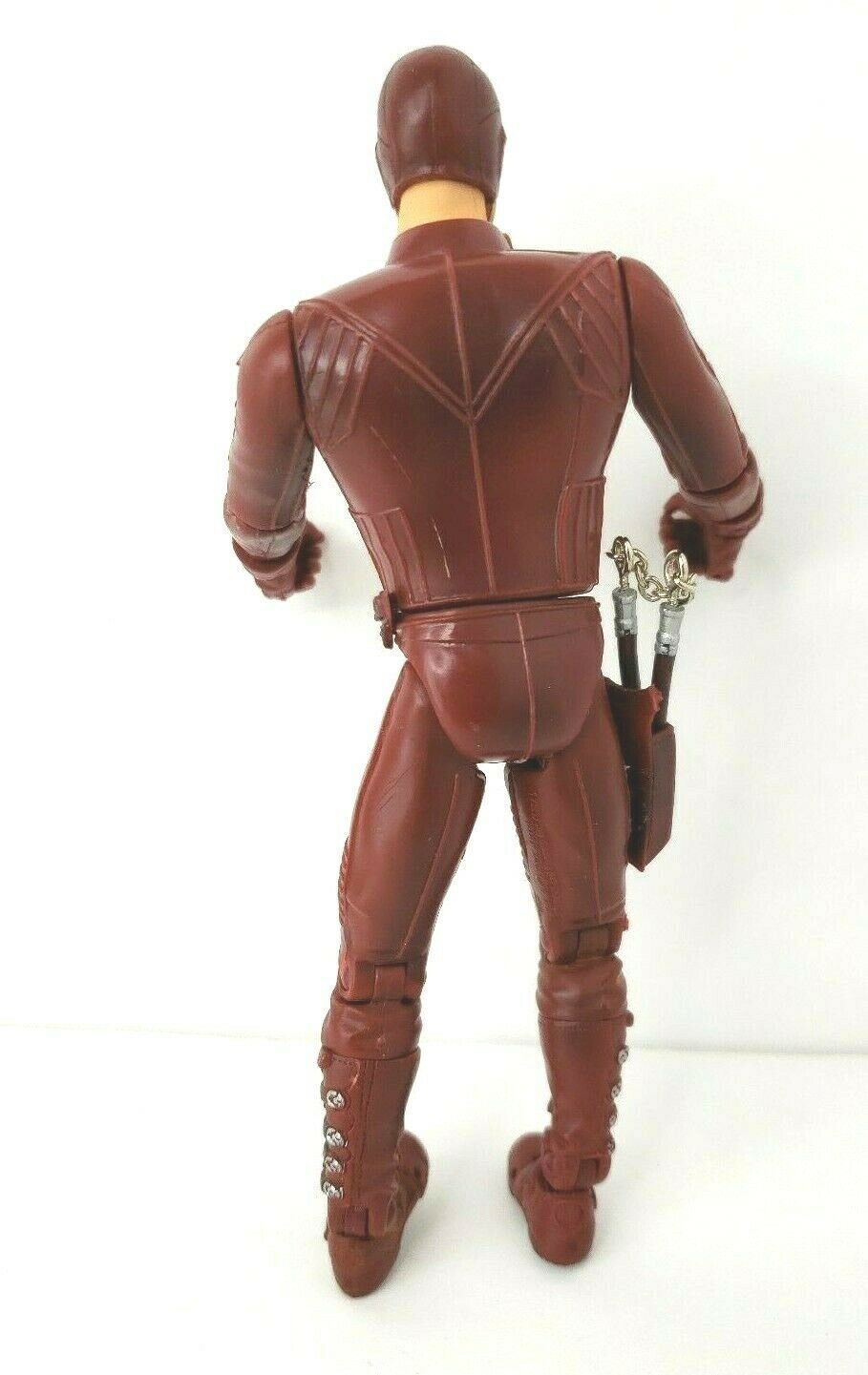 "Daredevil Movie Action Figure 2002 Marvel 6"" Affleck with Nunchucks image 5"