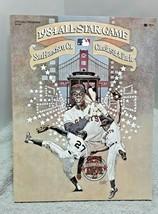 1984 Major League Baseball All Star Game Program with Player Sheet NICE - $14.84