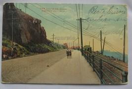 Weehawken NJ Palisades Transport Old 1915 New Jersey postcard - $2.50