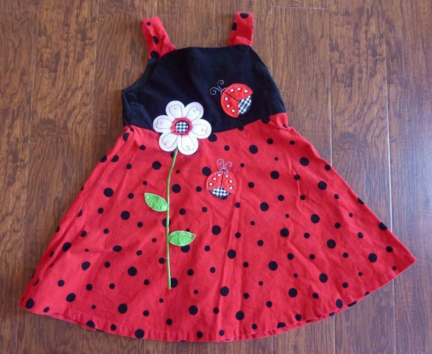 bed17665cf877 RARE EDITIONS Girls Dress Size 6X Red Black and 50 similar items. S l1600