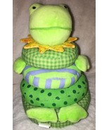 Rich Frog Little Stacker Frog Green Stacking Activity Toy Cloth Stuffed ... - $10.88