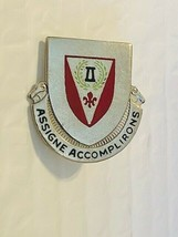 US Military 83rd Engineer Battalion Insignia Pin - Assigne Accomplirons - $10.00