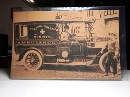 LW44 Early Ambulance Lakewood 100th Anniversary Vintage Postcard Not Pos... - $3.32