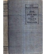 1908 EDGAR ALLAN POE POEMS HORROR TALES HOUSE OF USHER PIT & PENDULUM GO... - $88.11