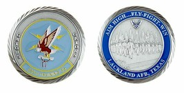"LACKLAND AIR FORCE BASE  GATORS 320TH TRAINING SQUADRON 1.75"" CHALLENGE ... - $17.09"