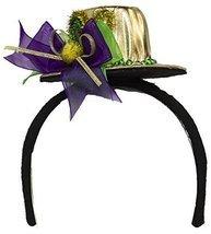Jacobson Hat Company Unisex-Adults Mardi Gras Top Hat Headband, Purple, ... - $8.90
