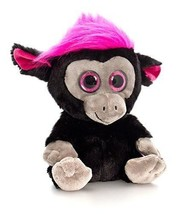 Keel Toys 25cm Moonlings Monkey Black & Pink - $11.58