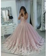 Sexy Elegant Lace Quinceanera Dress Ball Gown Appliqued Prom Party Gowns... - $173.55