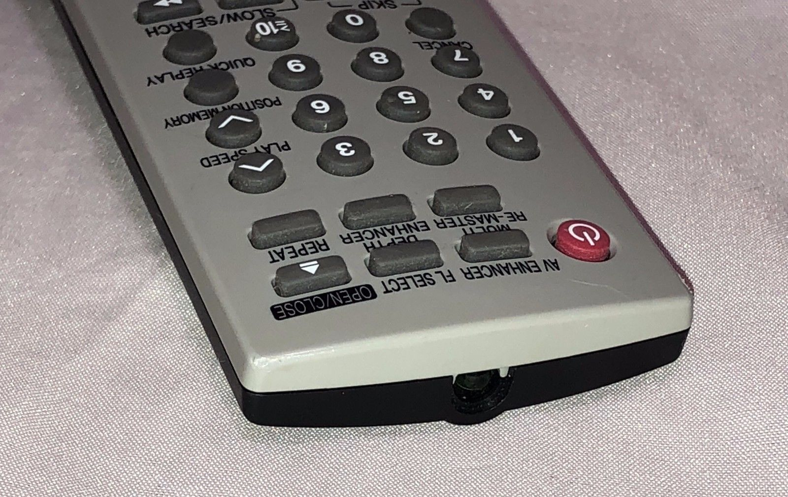 Panasonic EUR7631010 DVD Player Remote Control (for: DVDS47, DVDS47P, DVDS47S)