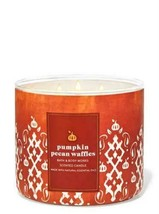 Pumpkin Pecan Waffles 3 Wick Candle by Bath and Body Works - $16.00