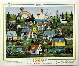 """Ceaco June Wooster Scott """"Somewhere Over The Rainbow"""" 1500 piece Jigsaw Puzzle - $18.96"""
