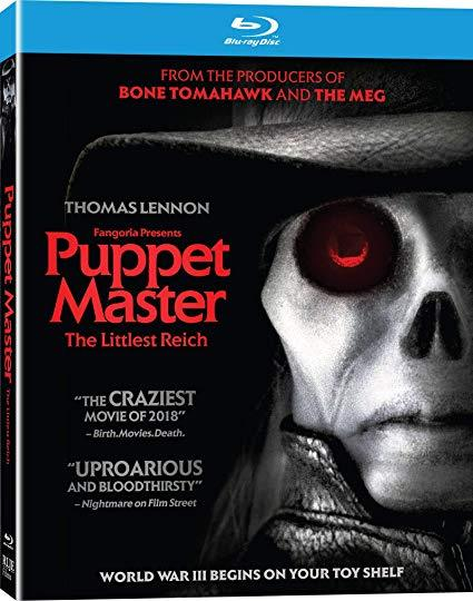 Puppet Master: The Littlest Reich (Blu-ray, 2018)