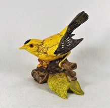 "Vintage Lego Japan  Yellow & Brown Bird Figure on Branch 5 1/2 "" Tall Ma... - $14.95"