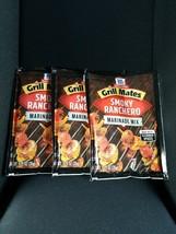 3 X GRILL MATES SMOKY RANCHERO MARINADE MIX 1.25 oz - $10.00
